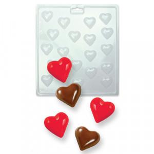 Moule à Chocolat Petits Coeurs 3D