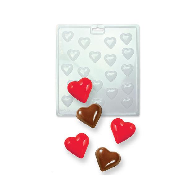 Moule a Chocolat Petits Coeurs 3D