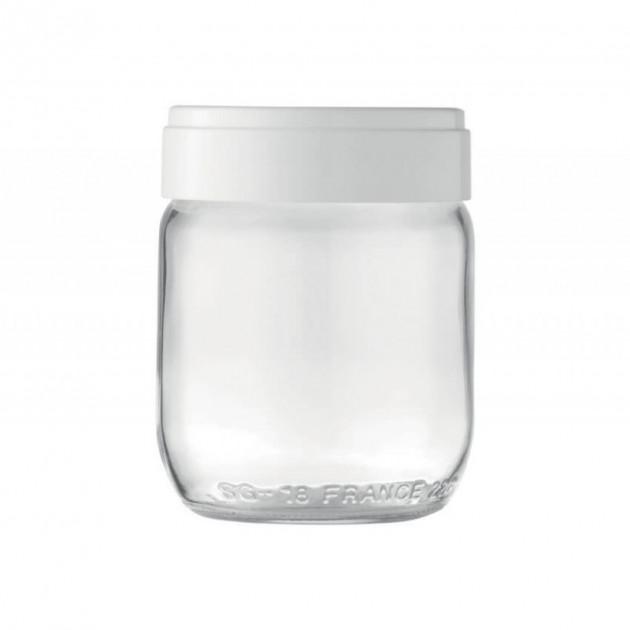 Pot de yaourt en verre avec couvercle Lagrange