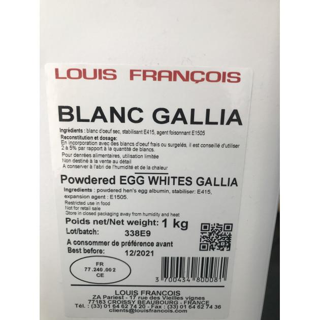 Étiquette Blanc d'Oeuf Déshydraté Gallia