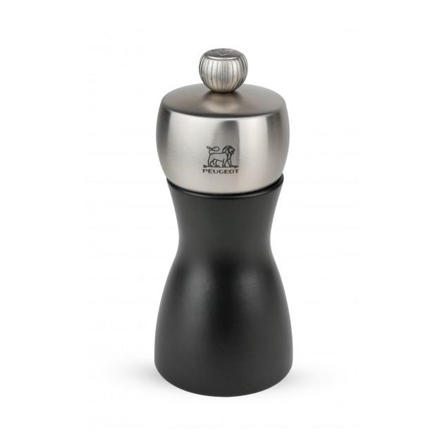 Moulin à Sel Fidji 12 cm Noir-Inox Peugeot