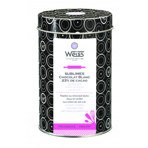 Pépites de Chocolat Blanc 23% 400g Weiss