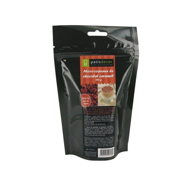 Mini-copeaux de Chocolat Caramel 100g Patisdecor