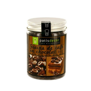 Grains de café en Chocolat 80 g Patisdécor