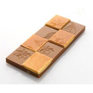 Moule Chocolat Tablette Feuilles et Fleurs 11,8cm (x6) Chocolat Form