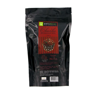 Chunks Chocolat Noir 250 g Patisdécor