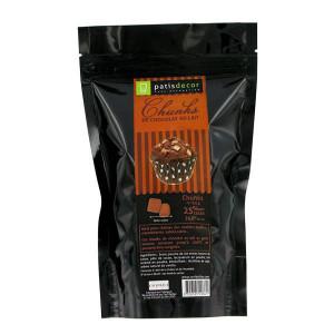 Chunks Chocolat au Lait 250 g Patisdécor