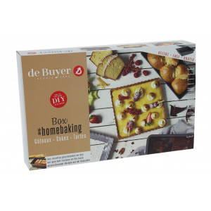 Coffret Box Home Baking Gâteau Cake Tarte de Buyer