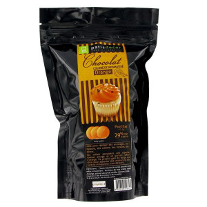Chocolat Coloré Arôme Orange 250 g Patisdécor