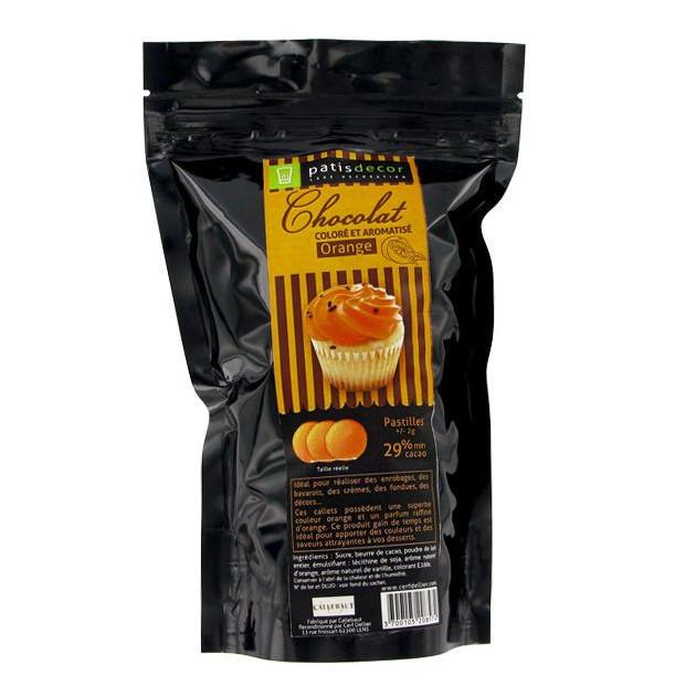 Chocolat Colore Arome Orange Patisdecor