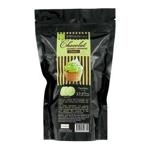 Chocolat Coloré Arôme Citron 250 g Patisdécor