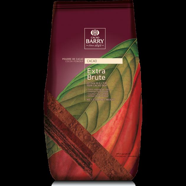 Cacao en poudre extra brute 1 kg Barry