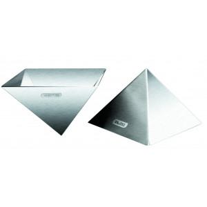 Moule Inox Pyramide 9 cm x H 6 cm Ibili
