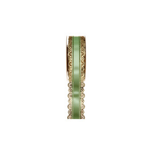 Ruban Charlotte Vert 50mm (23m)