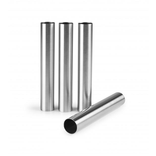 Tube Inox Cigarette Ø 2 cm x H 14 cm (x4) Ibili
