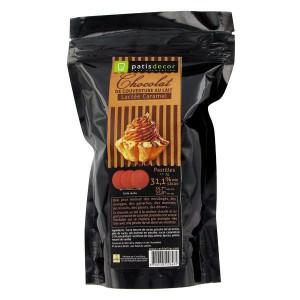 Chocolat au Lait Arôme Caramel 250 g Patisdécor
