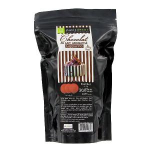 Chocolat au Lait Arôme Cappucino 250g Patisdécor