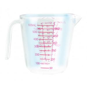 Verre Doseur Plastique 0,6 L Ibili