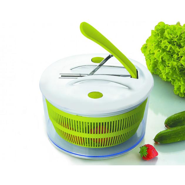 Essoreuse à Salade 16 cm avec pédale Ibili