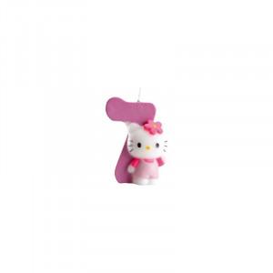 FIN DE SERIE Bougie Hello Kitty Chiffre 7