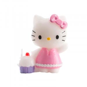 FIN DE SERIE Bougie Hello Kitty Cupcakes