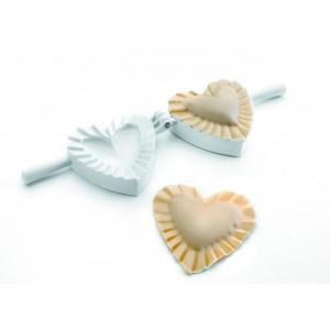 Moule à Chausson Plastique Coeur 10 cm Ibili