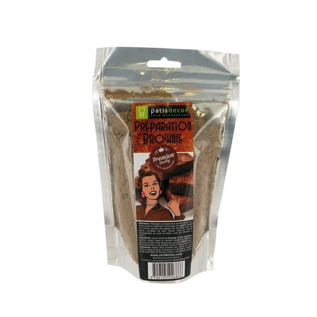 Preparation Brownie 250 g Patisdecor