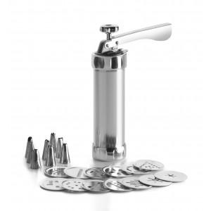 Presse à Biscuit et Décors Aluminium 0,2 L Ibili