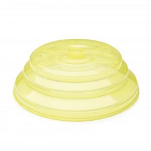 Cloche Micro-ondes Silicone Pliable Ø 25,5 cm x H 8,5 cm Ibili