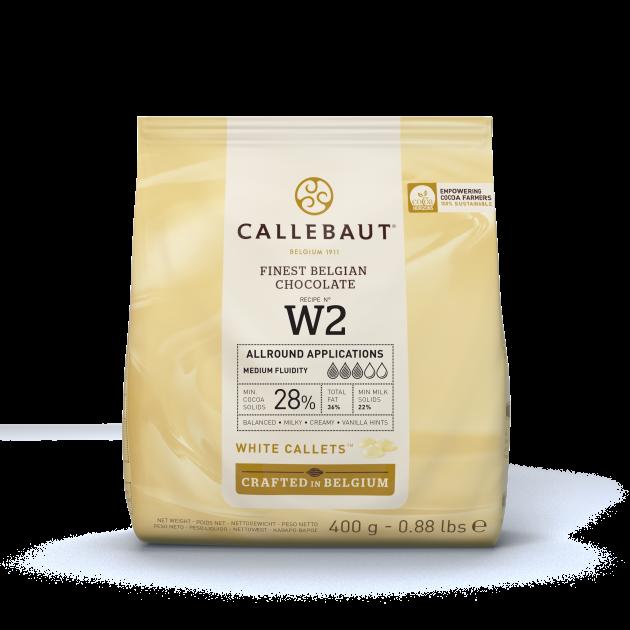 Chocolat Blanc 28% W2 400g Callebaut