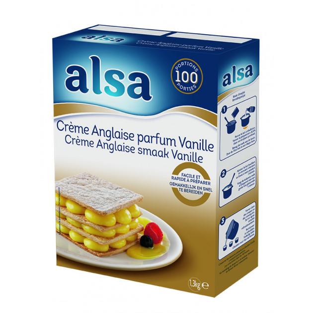 Crème Anglaise Express 1,3kg Alsa