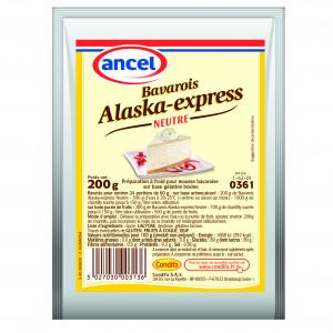 Préparation Bavarois Neutre Alaska Express 200g Ancel