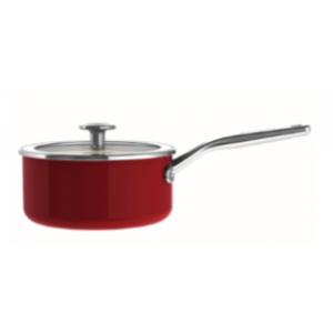 Casserole Émaillée 18cm Rouge Empire KitchenAid