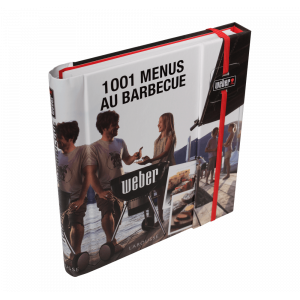 Livre Recette 1001 Menus au Barbecue Weber