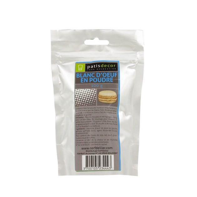 Blanc d'Oeuf en Poudre 100 g Patisdecor