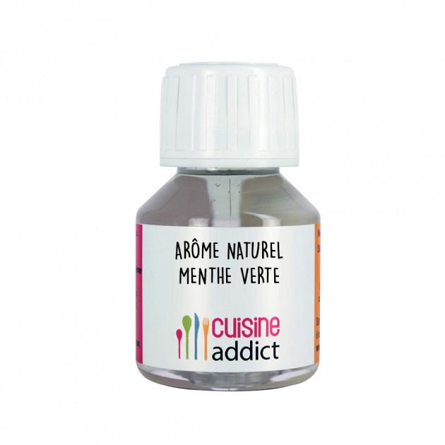 Arôme Alimentaire Naturel Menthe Verte 58 ml Cuisineaddict