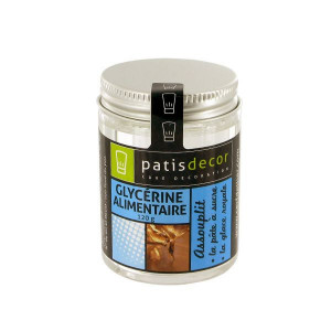 Glycérine Alimentaire 120 g Patisdécor