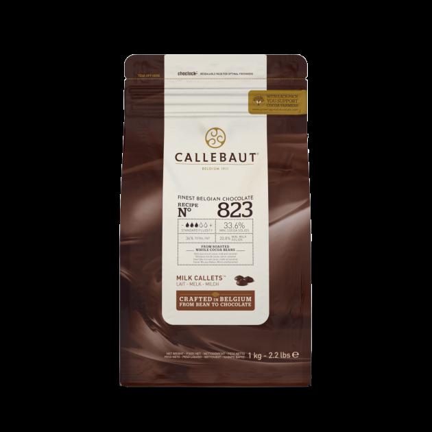 Chocolat au Lait 33,6% N°823 1kg Callebaut