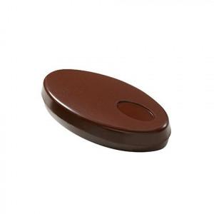 FIN DE SERIE Lot de 2 Moules à chocolat Ovales 2 empreintes