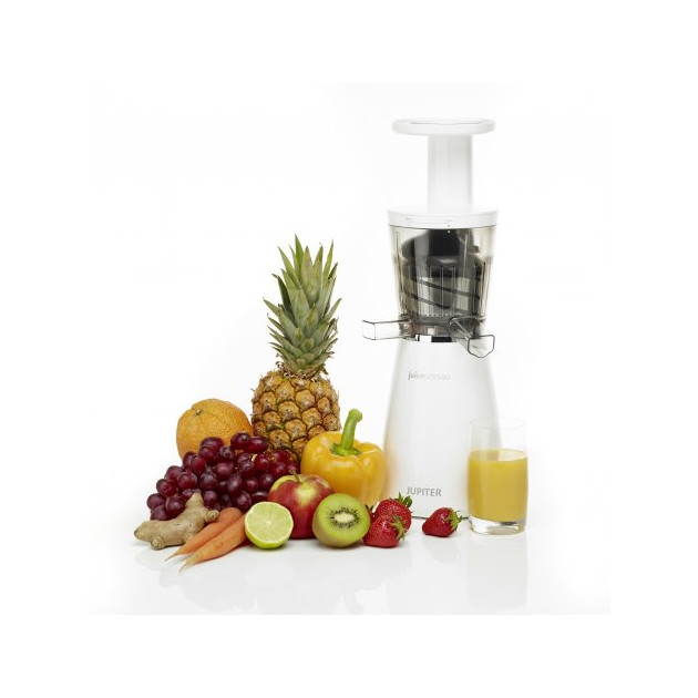 FIN DE SERIE Extracteur de Jus Juicepresso Blanc avec fruits