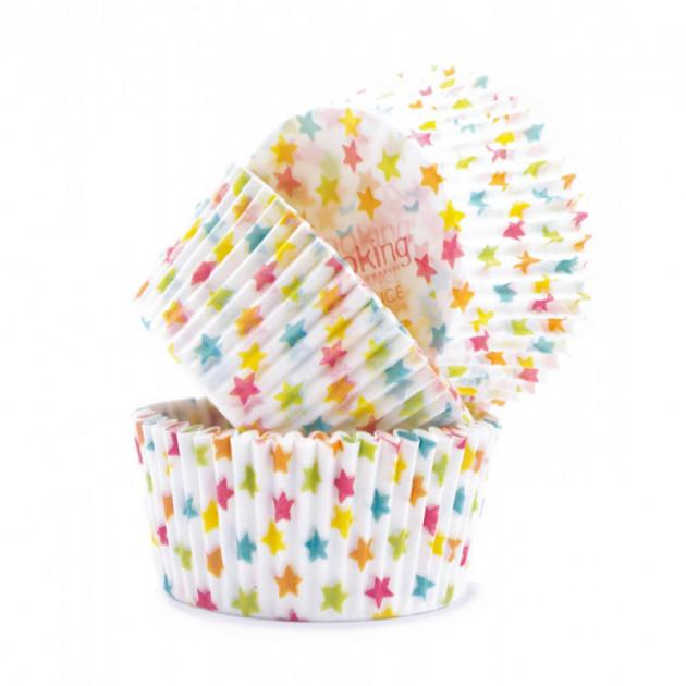 Caissettes en papier Etoiles Scrapcooking