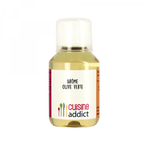 Arôme alimentaire Olive verte 115ml Cuisineaddict