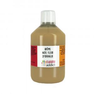 Arôme Alimentaire Fleur d'Oranger 500ml Cuisineaddict