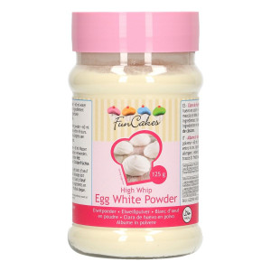 Blanc d'Oeuf en Poudre 125g Funcakes