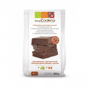 Fondant au Chocolat SANS GLUTEN 300g Scrapcooking