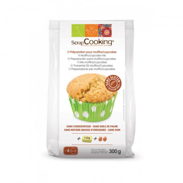 Muffins et Cupcakes SANS GLUTEN 300g Scrapcooking