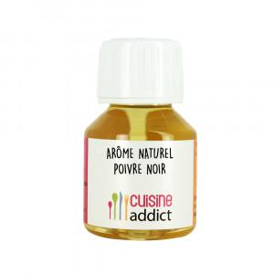 Arôme Alimentaire Naturel Poivre Noir 58ml Cuisineaddict