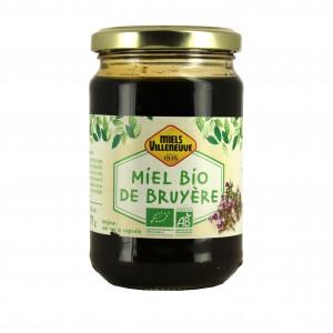 Miel de Bruyère Bio 375 g Miels Villeneuve
