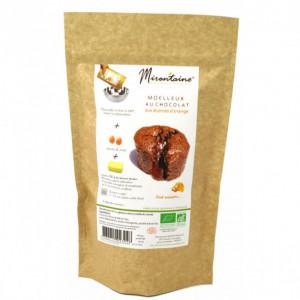 Moelleux BIO au Chocolat et à l'Orange 240g Mirontaine