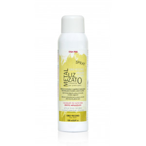 Spray Colorant Or Clair Effet Métallisé 150 ml
